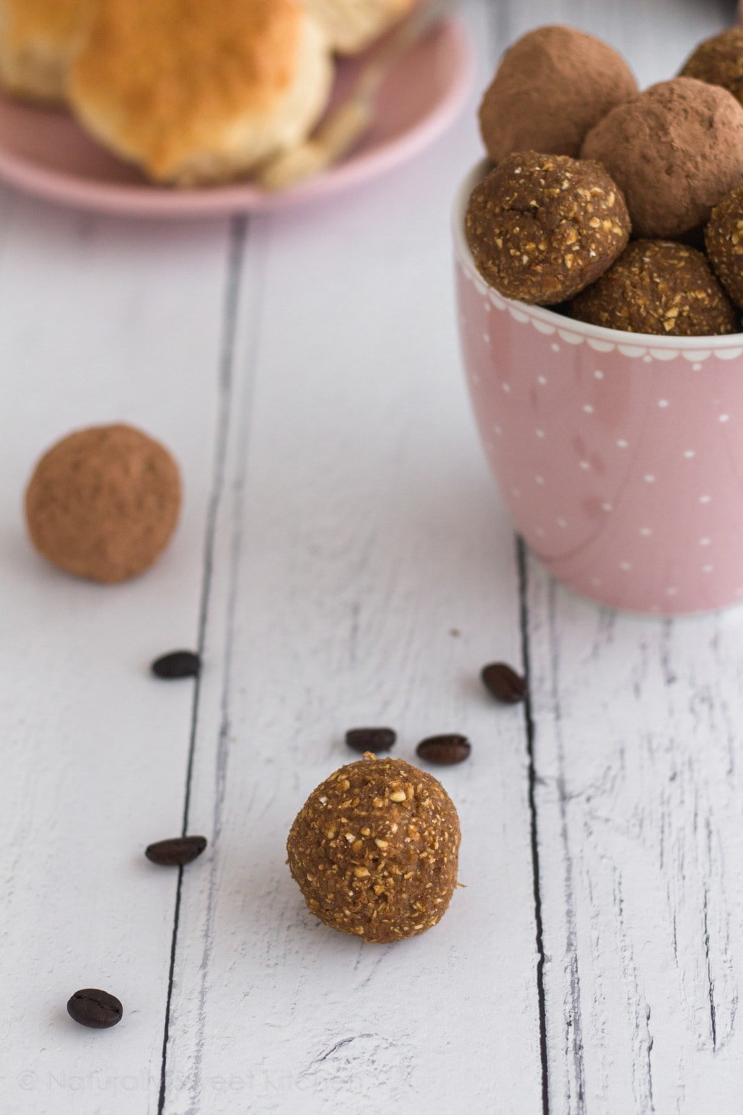 Easily prep over 30 days of protein-packed healthy snacks with Naturally Sweet Kitchen's new ebook, 30 Days of Protein Truffles. Perfect for back to school snacks, work out snacks, or a quick breakfast! #naturallysweetkitchen #30DaysofProteinTruffles #energybites #proteinballs #proteinsnacks