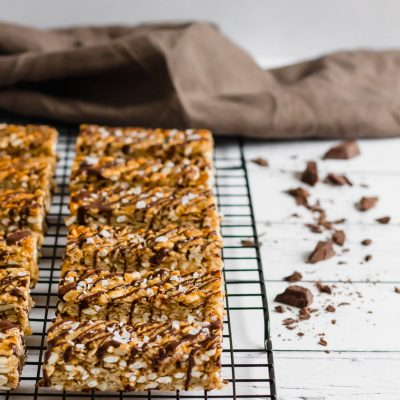 The Best Peanut Butter Granola Bars