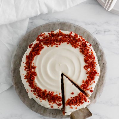 Natural Red Velvet Cake for Two