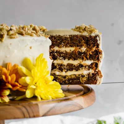 Refined Sugar Free Carrot Cake