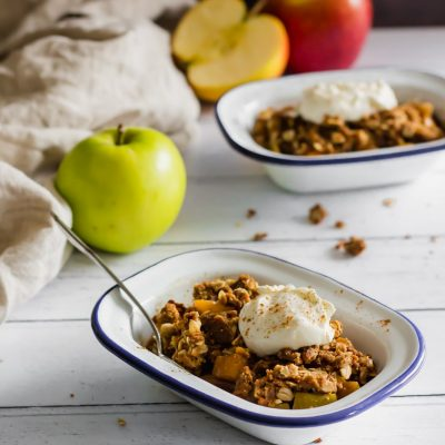 15-Minute Apple Crisp