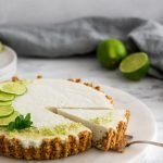 A refined sugar free vegan Frozen Margarita Tart recipe.