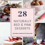 If you hate missing out on the coloured Valentine's dessert fun because you're trying to avoid artificial food dyes, you've landed in the right place. In this post you'll find over two dozen naturally red and pink dessert and brunch recipes! Get the recipes on naturallysweetkitchen.com
